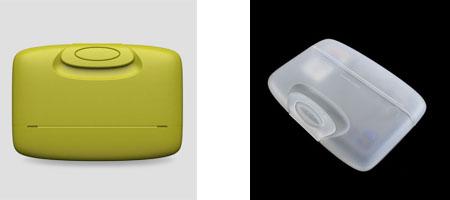Capsul Plastic Card Holder