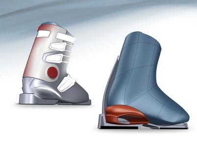 Freestyle Ski Boot application